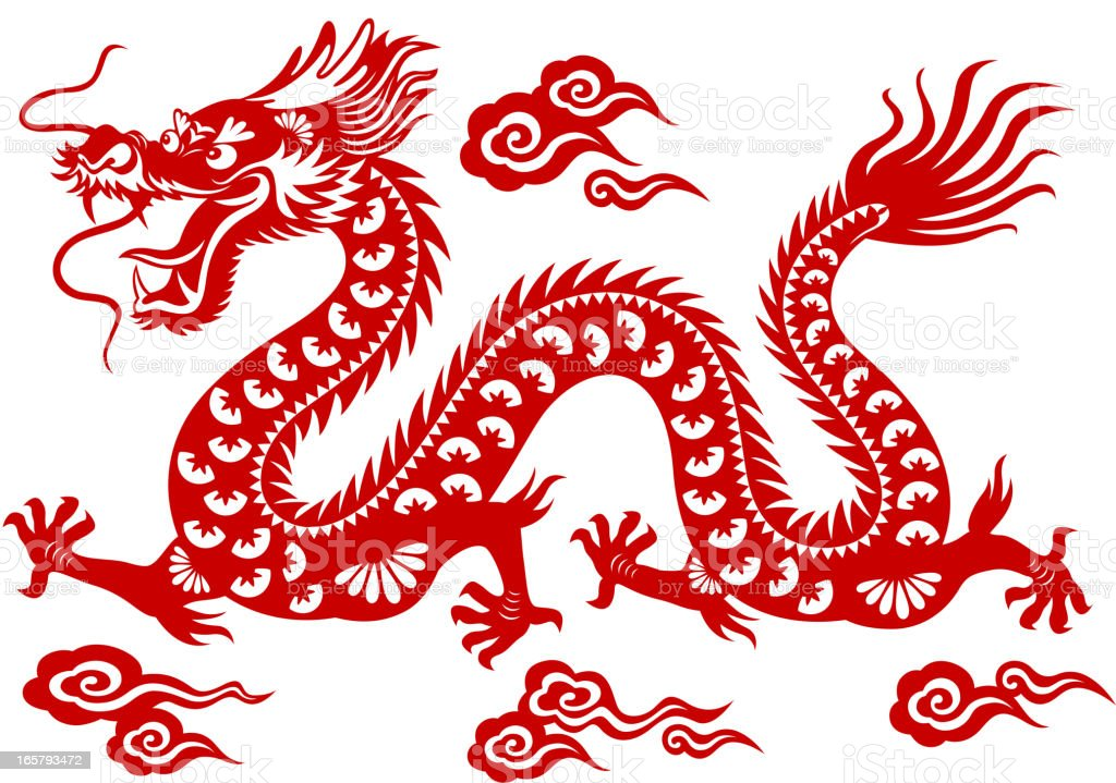 best chinese dragon illustrations