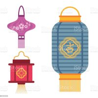 Royalty Free Chinese Lamps Clip Art, Vector Images ...