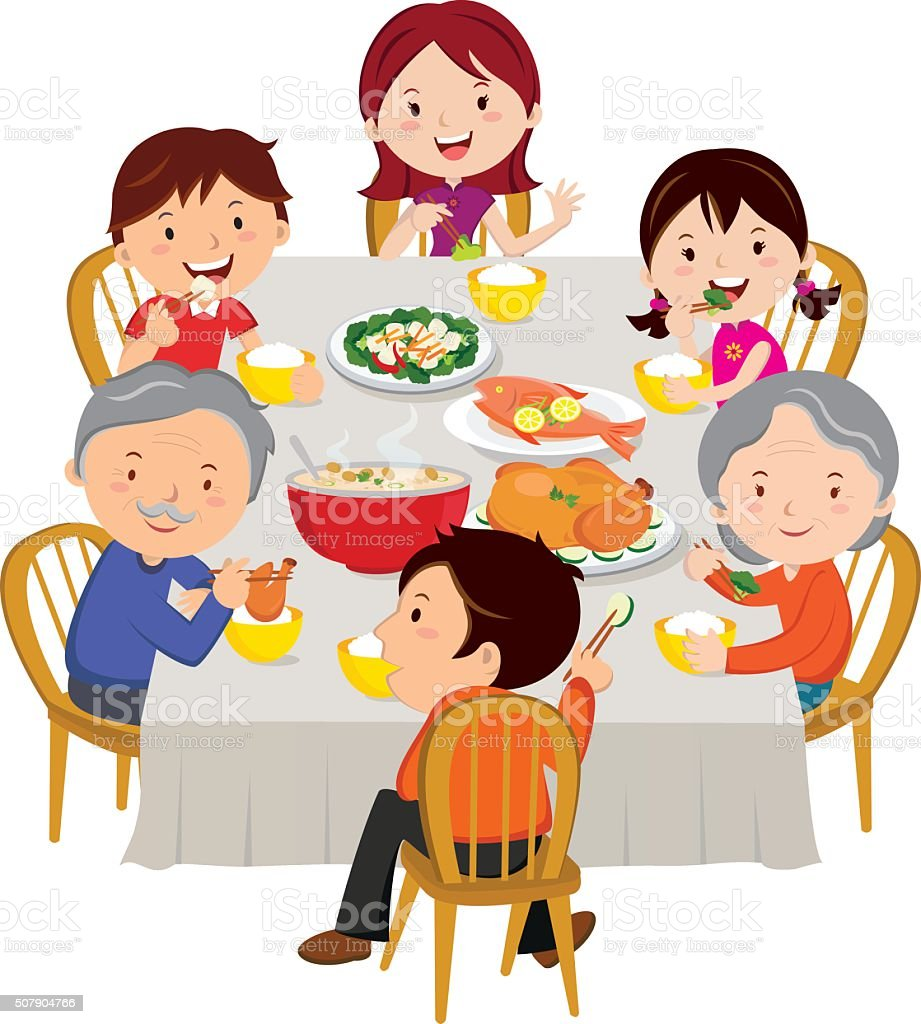 Top Chinese Family Clip Art Vector Graphics And