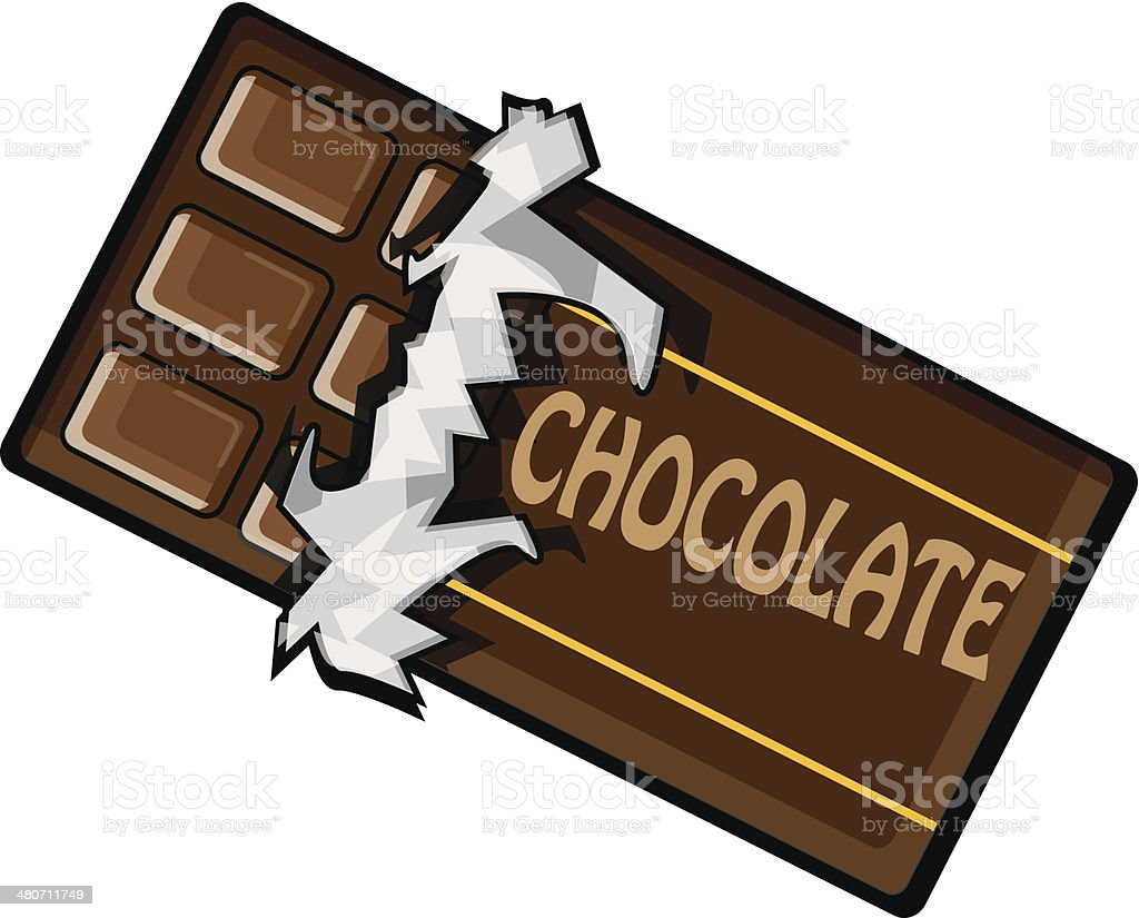 chocolate bar clip art vector