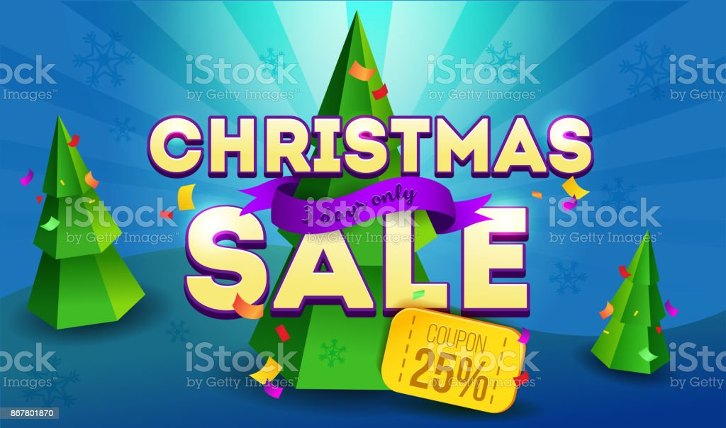 christmas sale banner promotion