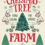 Vetores De Christmas Tree Farm Vintage Sign E Mais Imagens De Agricultura Istock