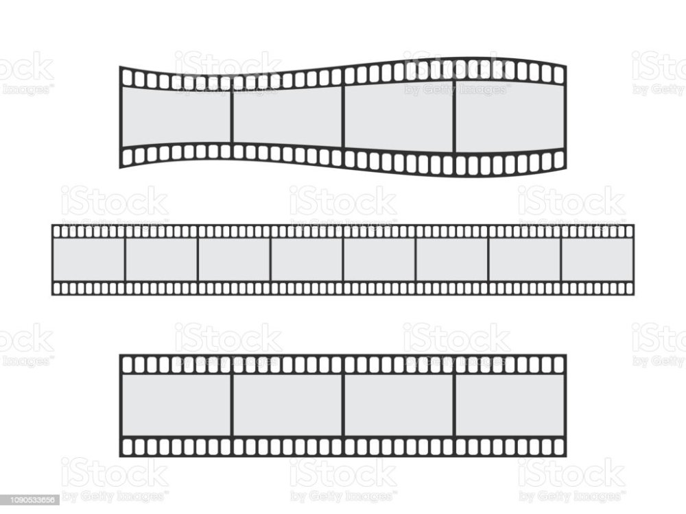 medium resolution of cinema film strip roll 35mm blank slide frame vector set frame picture photography and cinema film strip frame illustration illustration