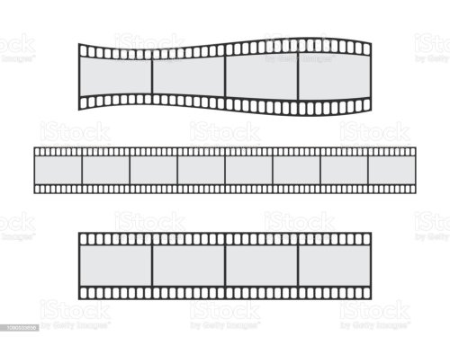 small resolution of cinema film strip roll 35mm blank slide frame vector set frame picture photography and cinema film strip frame illustration illustration