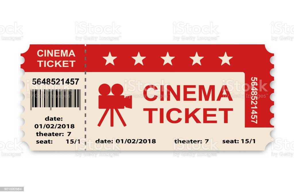 best movie ticket illustrations