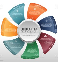 circular fan infographic royalty free circular fan infographic stock vector art amp more images [ 1024 x 1024 Pixel ]