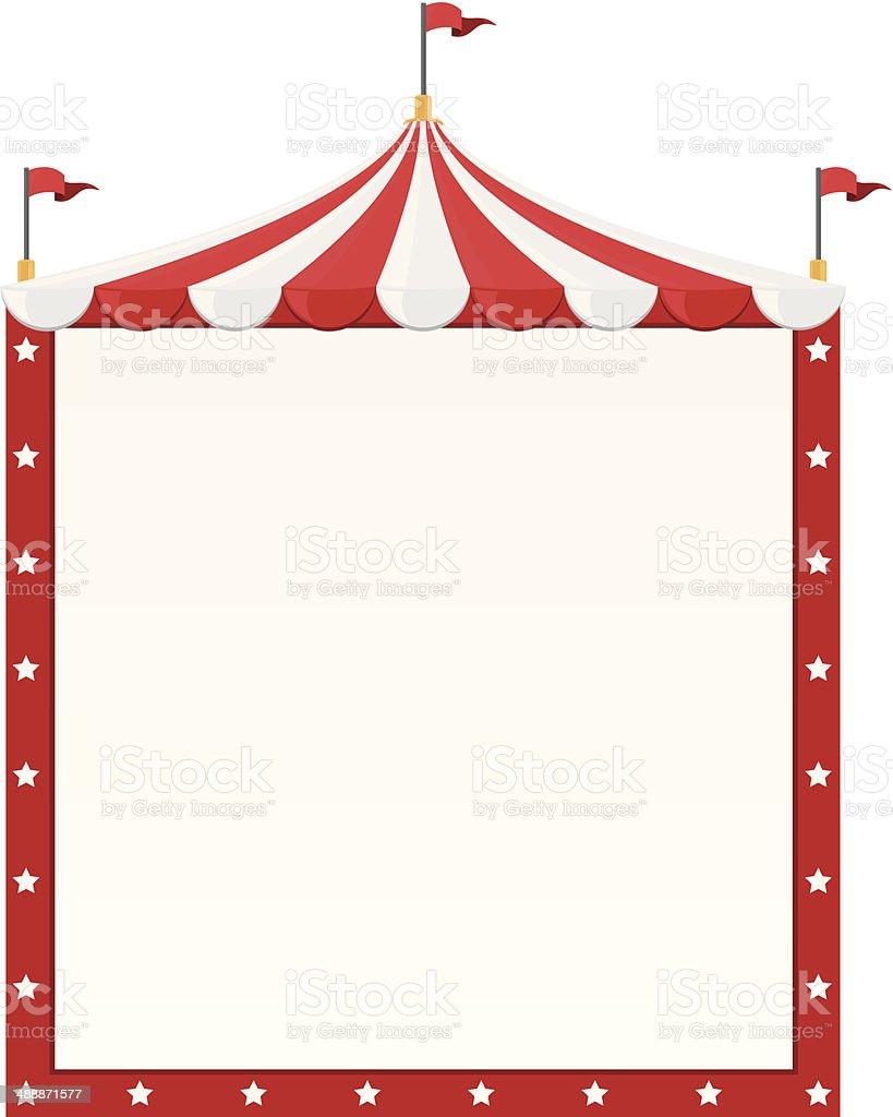 circus tent illustrations