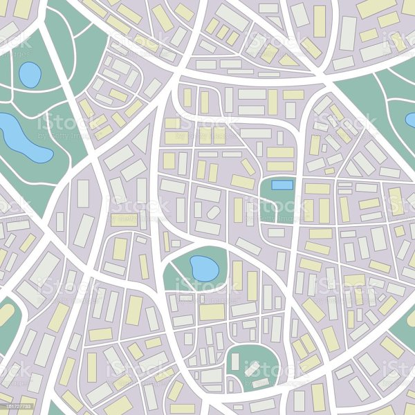 City Map Seamless Pattern Stock Vector Art amp More Images