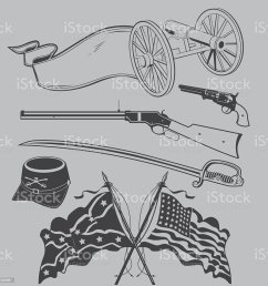 civil war clip art royalty free civil war clip art stock vector art amp  [ 1024 x 1024 Pixel ]
