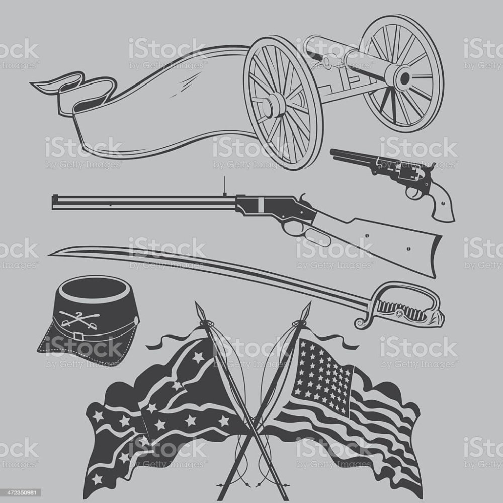 medium resolution of civil war clip art royalty free civil war clip art stock vector art amp