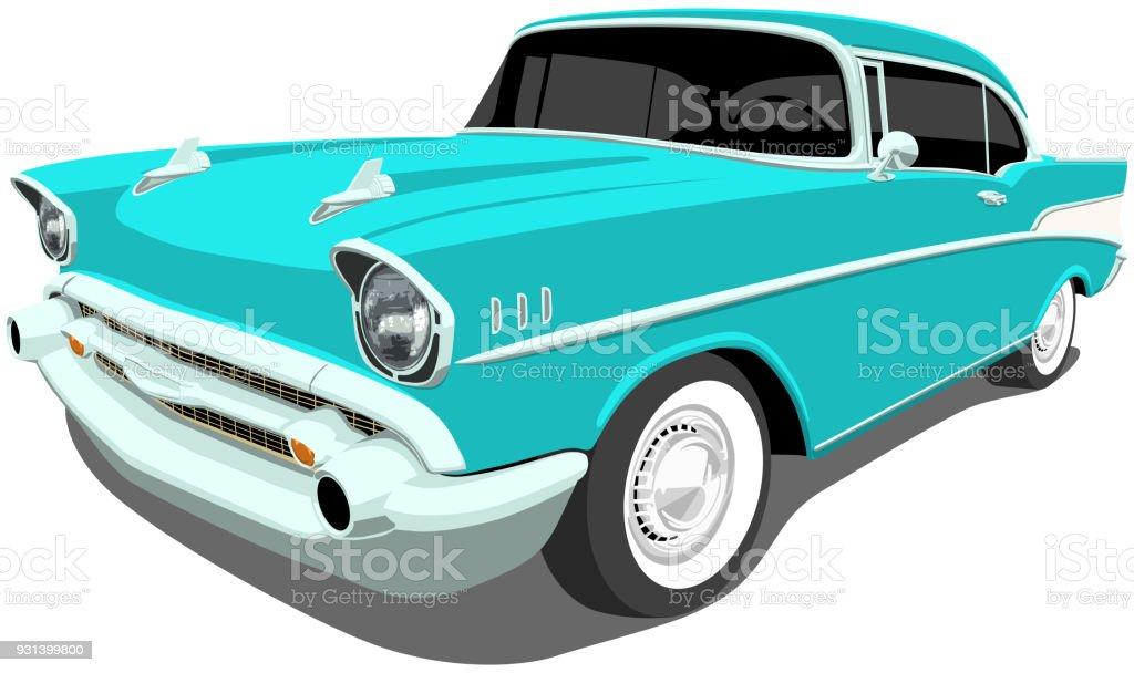 best vintage car illustrations