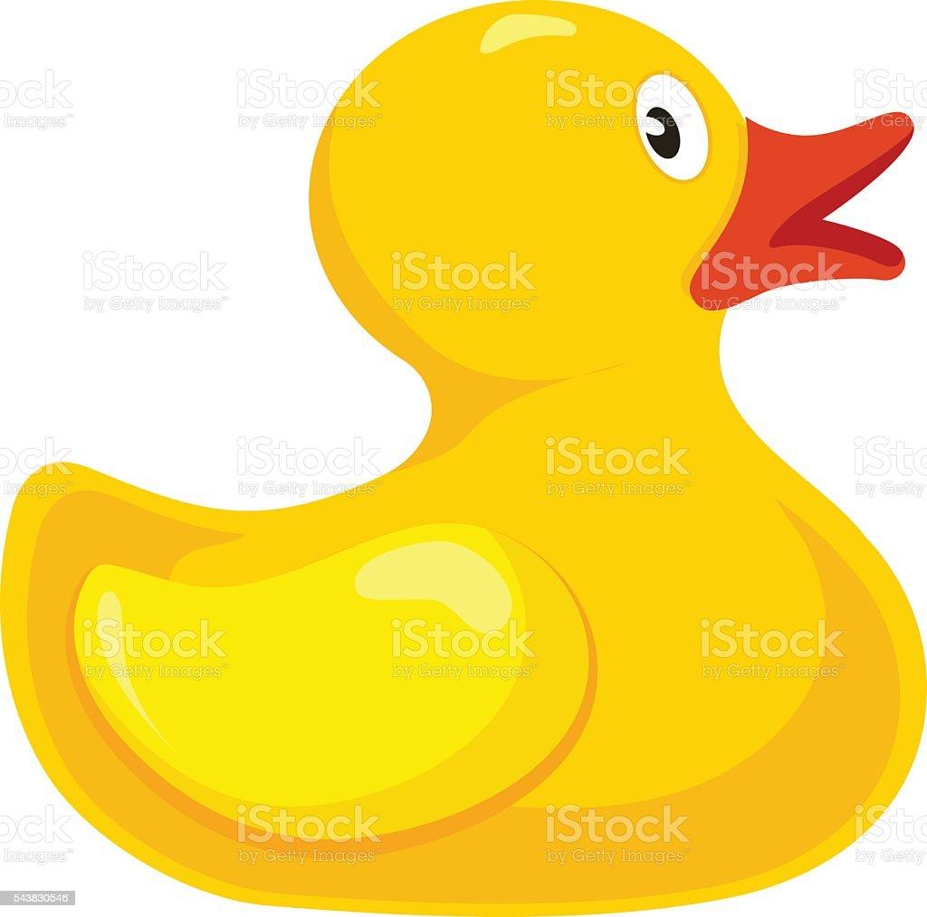 yellow duck clip art vector