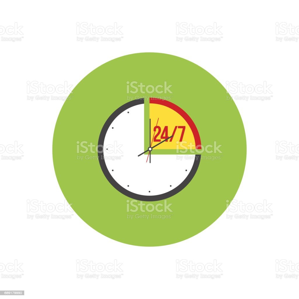 Clip Art Of A Customer Support Icon插圖和矢量圖形 - iStock
