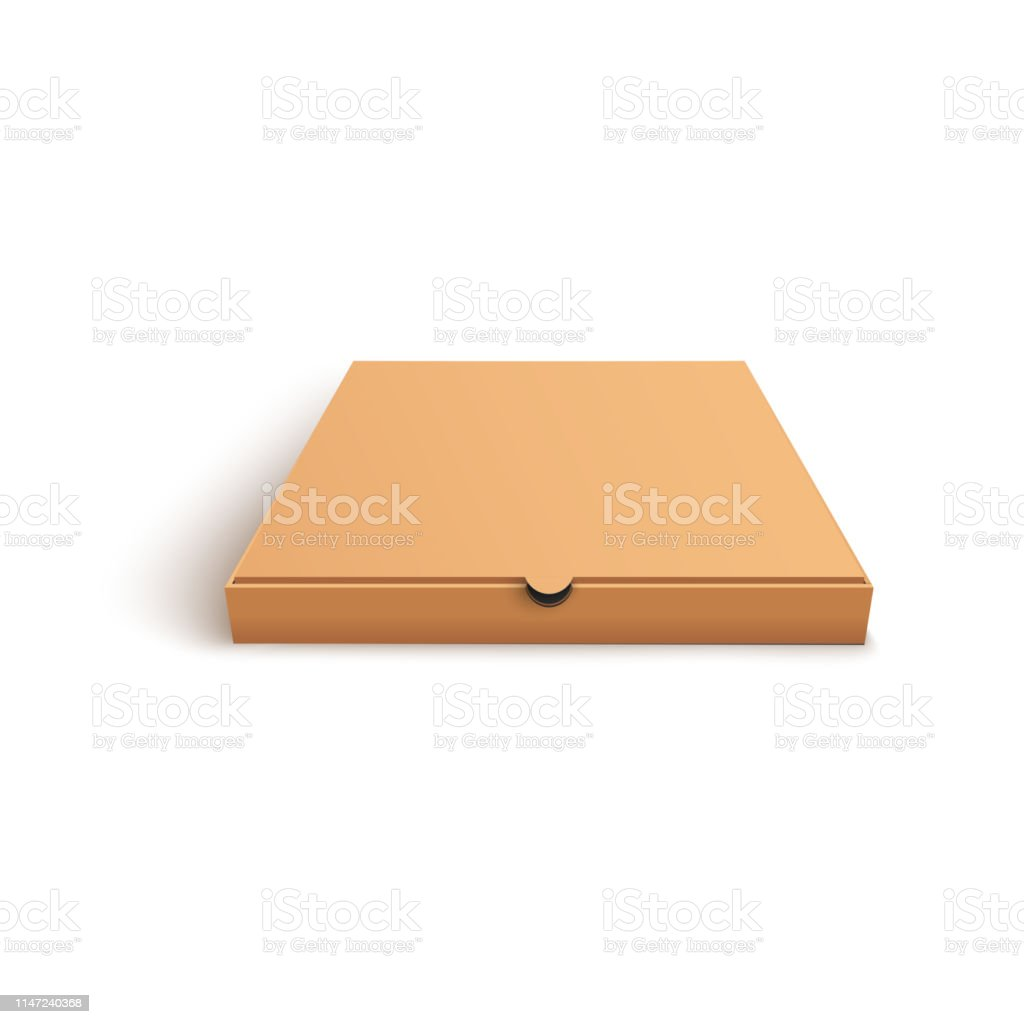 closed blank brown pizza