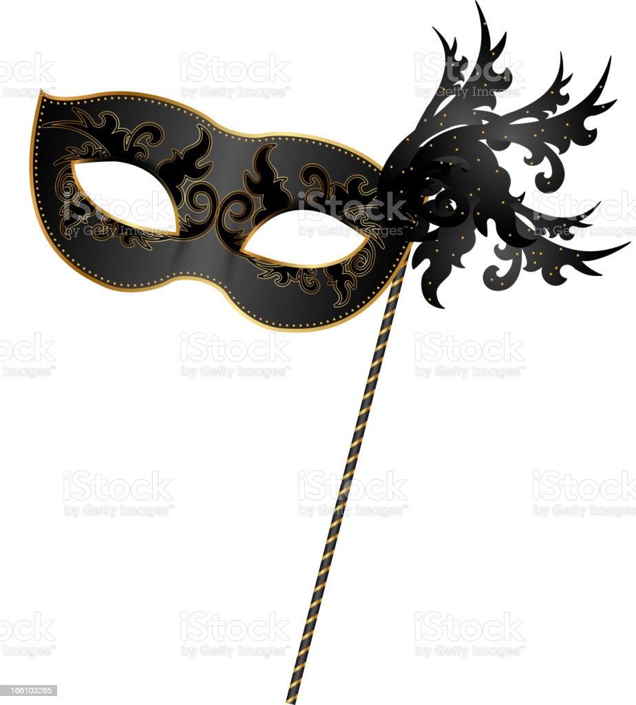masquerade mask illustrations