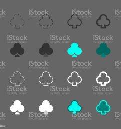 club card icon multi series illustration  [ 1024 x 1024 Pixel ]