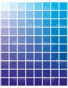 Color chart blue cyan print production guide ink catalog royalty free also stock rh istockphoto