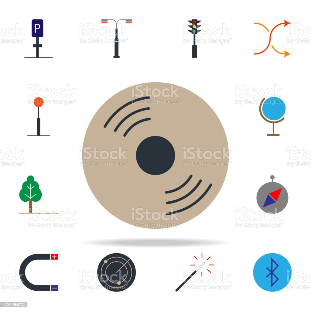 hight resolution of colored cd disk icon web icons universal set for web and mobile royalty free