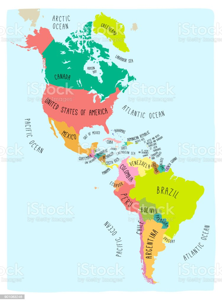colorful map of the