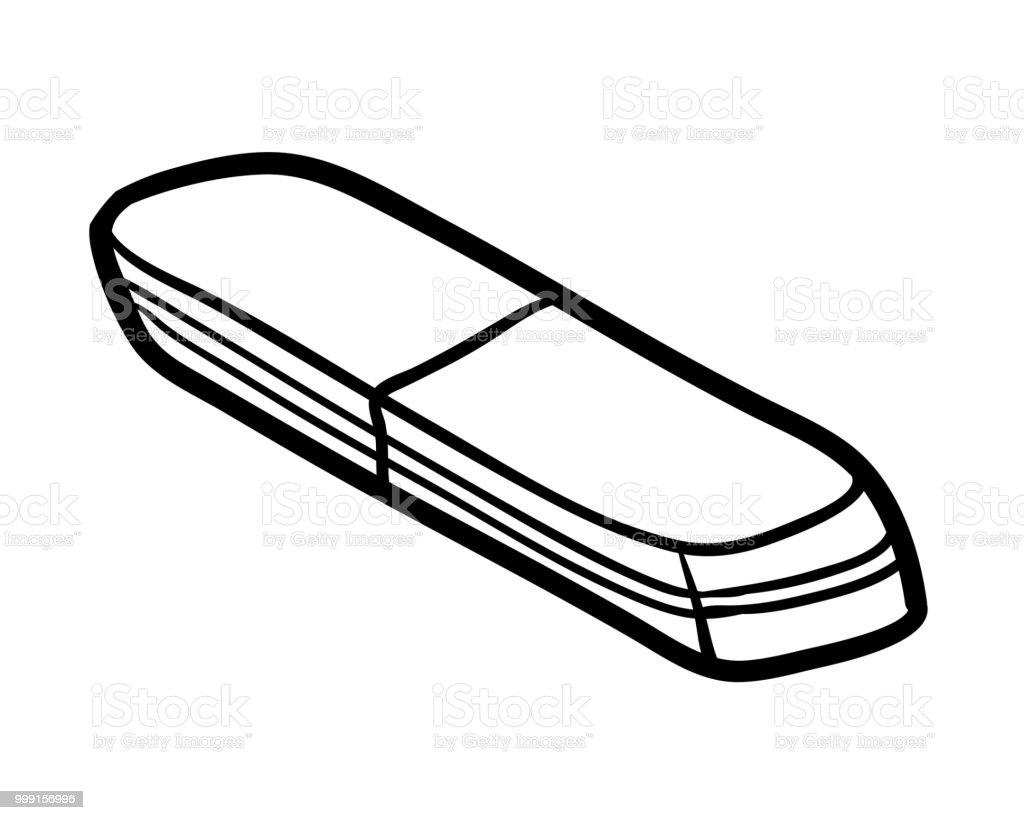 Coloring Book Eraser Stock Vector Art & More Images of