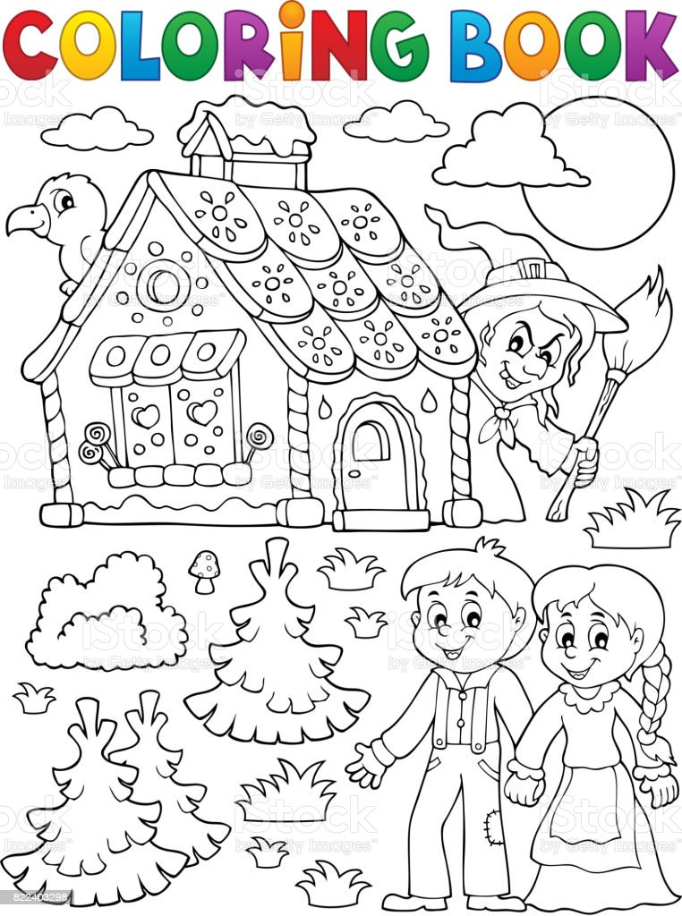 Royalty Free Hansel And Gretel Clip Art Vector Images
