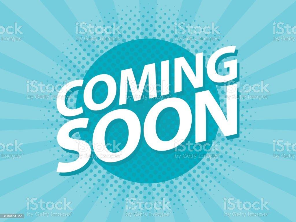 https www istockphoto com de vektor coming soon retro vintage poster promotion flyer vorlage vektor illustration gm819373122 132499007