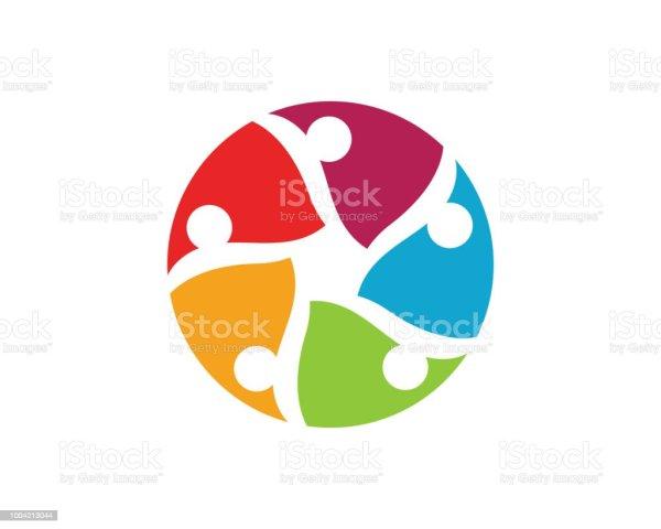 Community People Logo And Symbols Stock Vector Art &