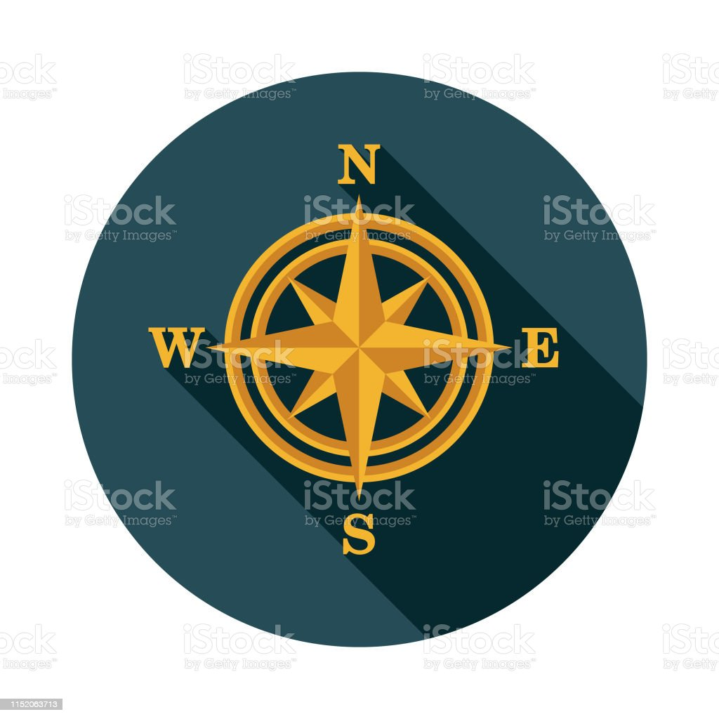 North East West South Symbol Illustrations. Royalty-Free Vector Graphics & Clip Art - iStock