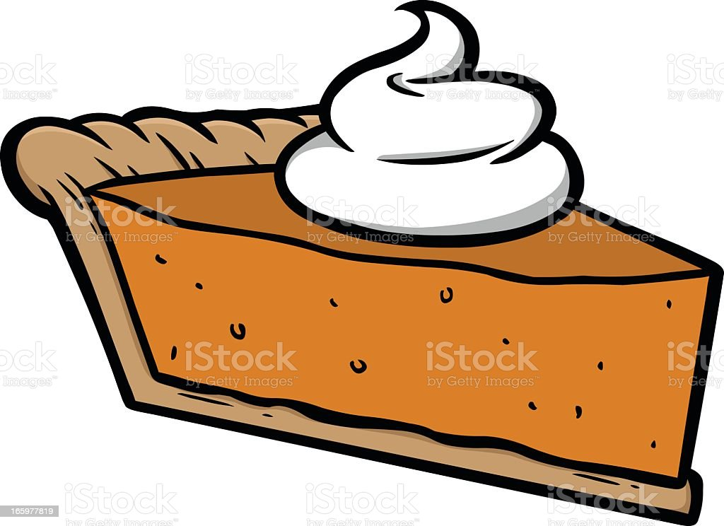 pumpkin pie clip art vector