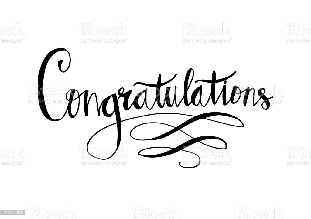 Congratulations Card Stock Vector Art & More Images of