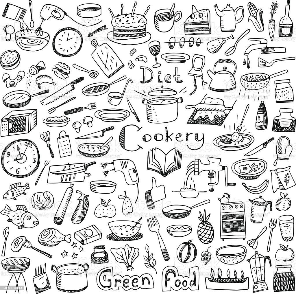 La Cucina Naturale Ciboset Di Disegni E Schizzi  Immagini