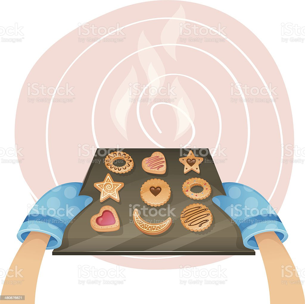 royalty free cookie tray clip art