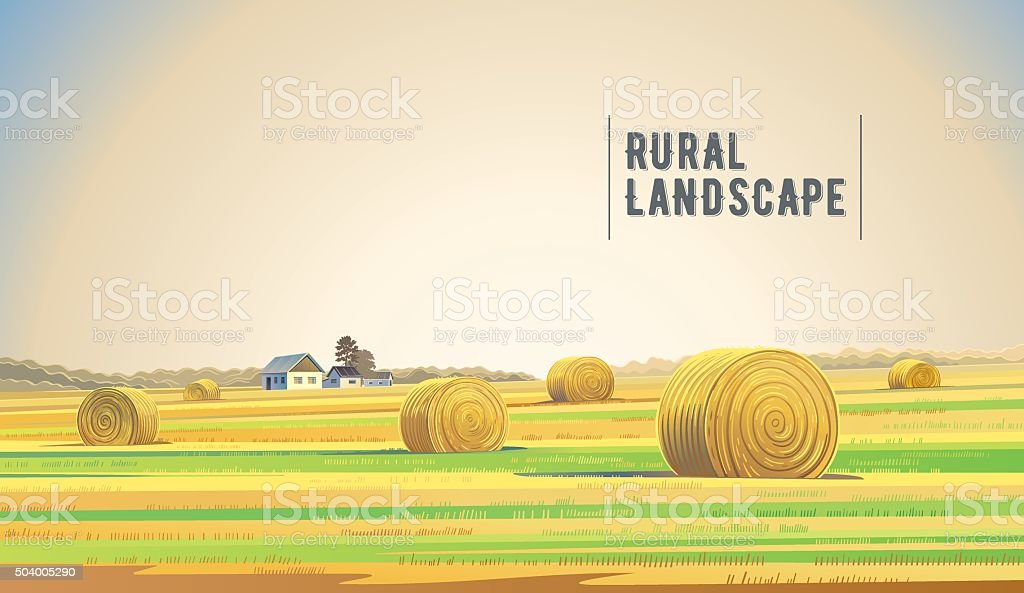 royalty free hay bale clip art