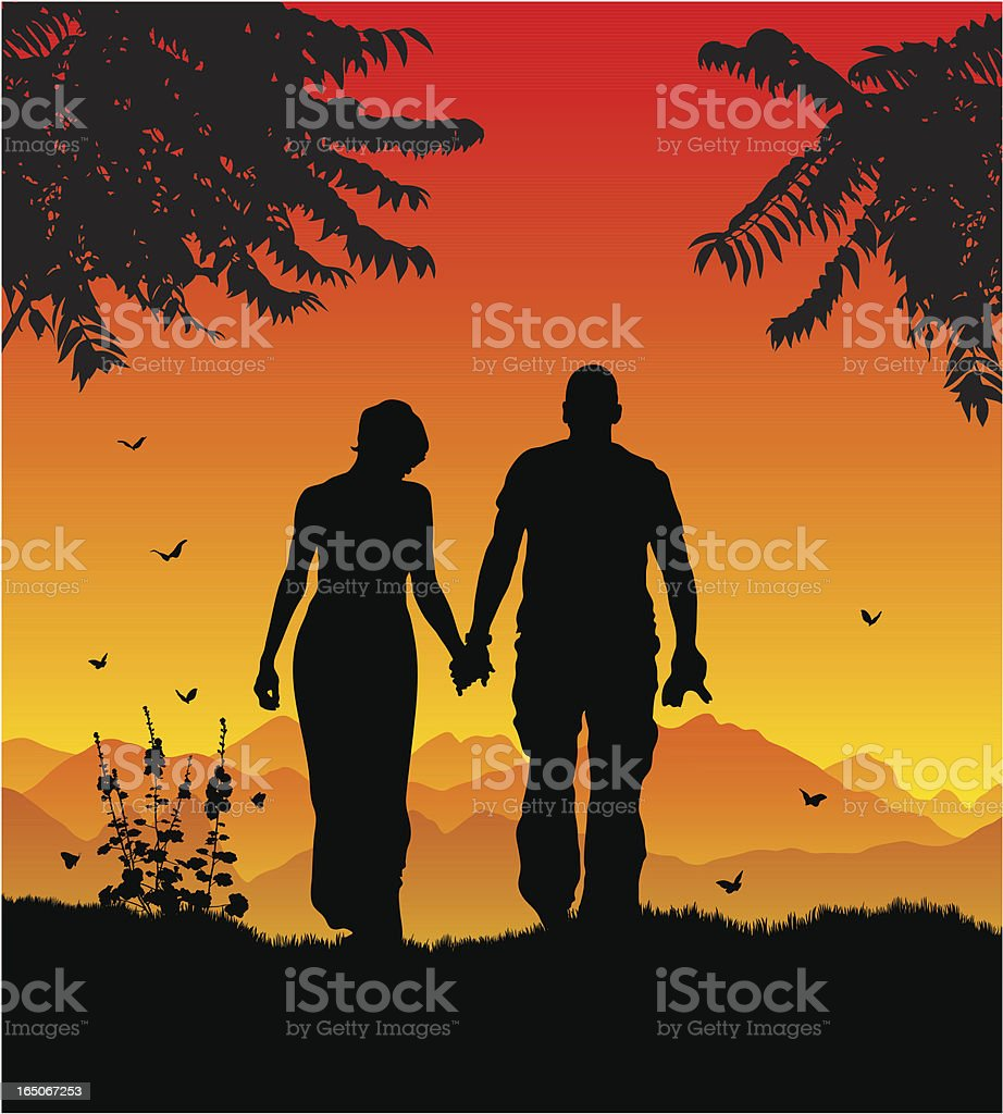top romantic walk and night clip