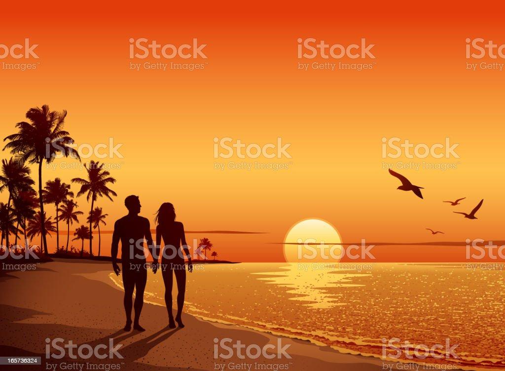 sunset illustrations royalty-free