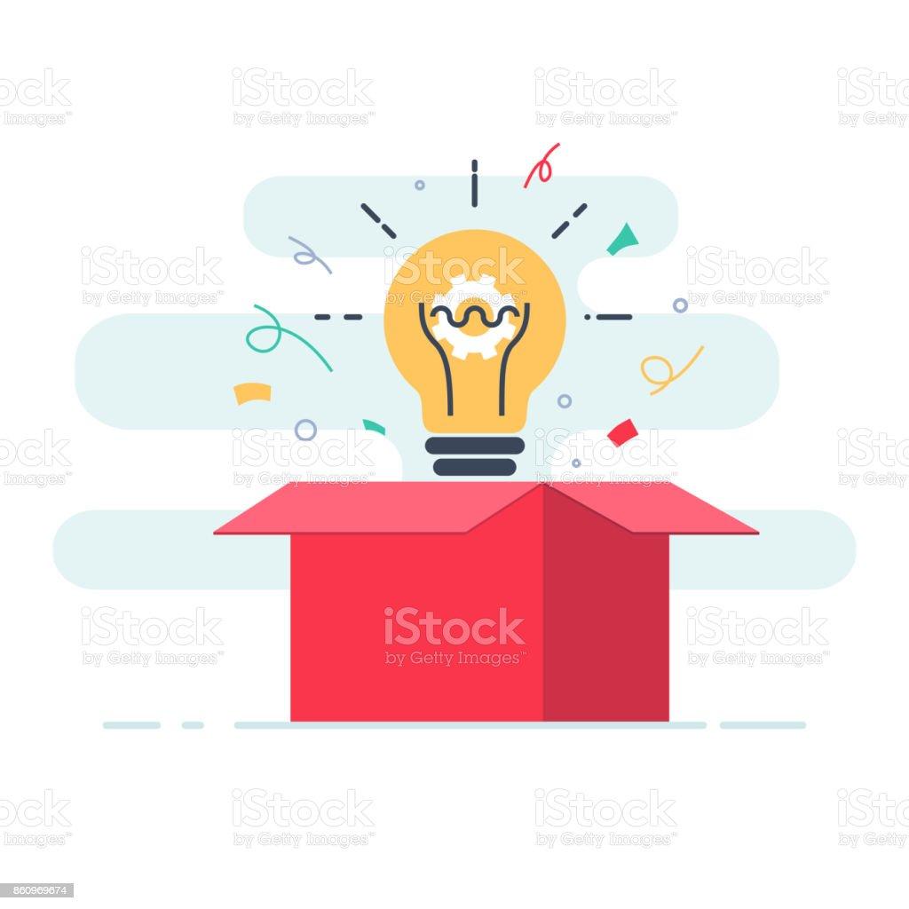 creative box think outside