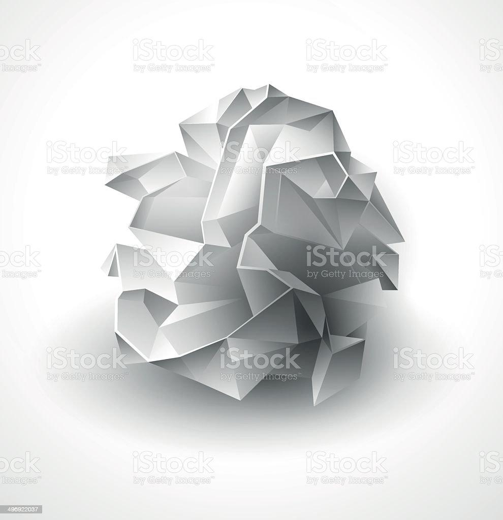 Crumpled Paper Clip Art Vector Images Illustrations