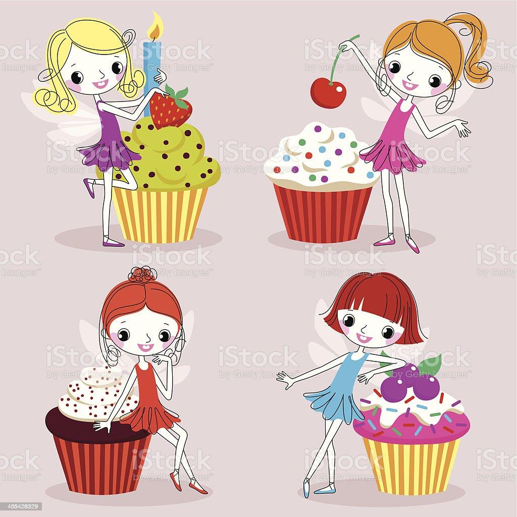 Royalty Free Red Velvet Cake Clip Art Vector Images