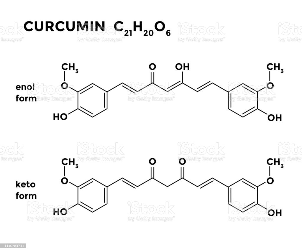 hight resolution of curcumin turmeric ingredient structural chemical formula royalty free curcumin turmeric ingredient structural chemical
