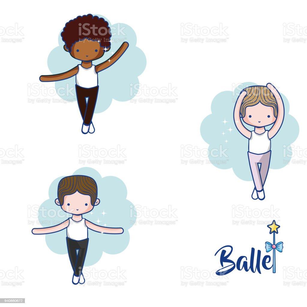 cute boys ballet dancers