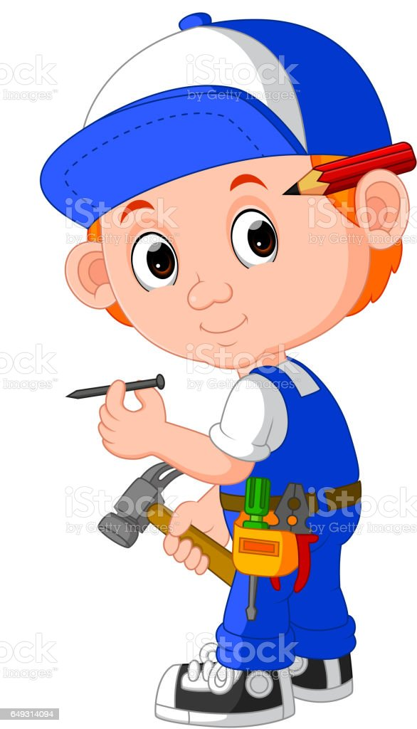 child engineer illustrations