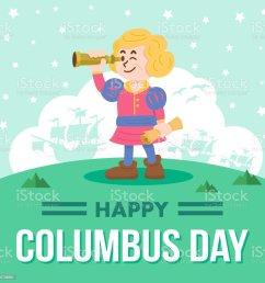 cute cartoon of christopher columbus vector illustration royalty free cute cartoon of christopher columbus [ 1024 x 1023 Pixel ]