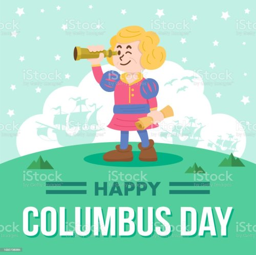 small resolution of cute cartoon of christopher columbus vector illustration royalty free cute cartoon of christopher columbus