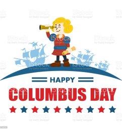 cute cartoon of christopher columbus vector illustration royalty free cute cartoon of christopher columbus [ 1024 x 1024 Pixel ]