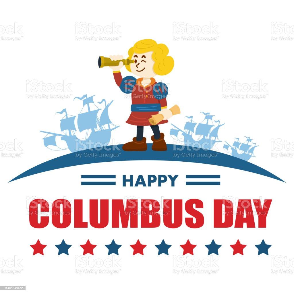 hight resolution of cute cartoon of christopher columbus vector illustration royalty free cute cartoon of christopher columbus