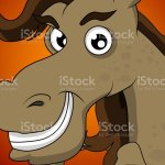 Cute Horse Head Cartoon Stock Illustration Download Image Now Istock