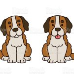 Cute Saint Bernard Puppy Stock Illustration Download Image Now Istock