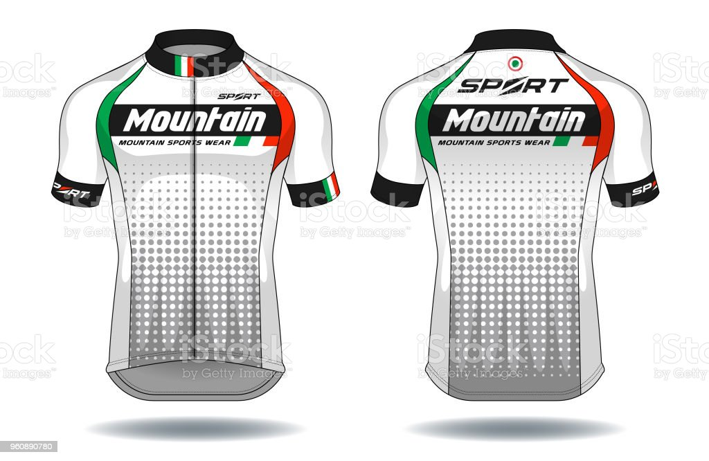 Cycle Jerseysport Wear Protection Equipment Vector