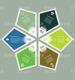 esquema c clico con seis pasos y los iconos eps 10 ilustraci n de esquema c clico con [ 1024 x 1024 Pixel ]
