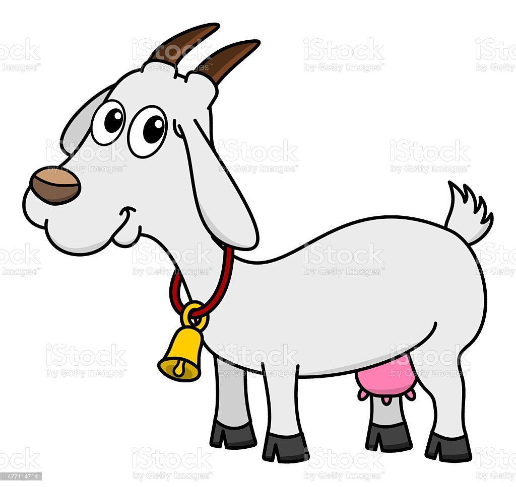 royalty free dairy goat clip art